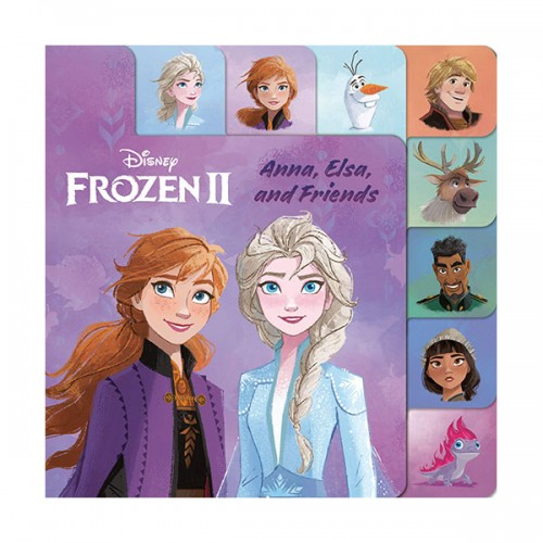 Frozen 2 : Anna, Elsa, and Friends (Board book)