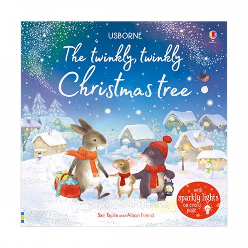 Usborne Twinkly Books : The Twinkly, Twinkly Christmas Tree (Board book, 영국판)