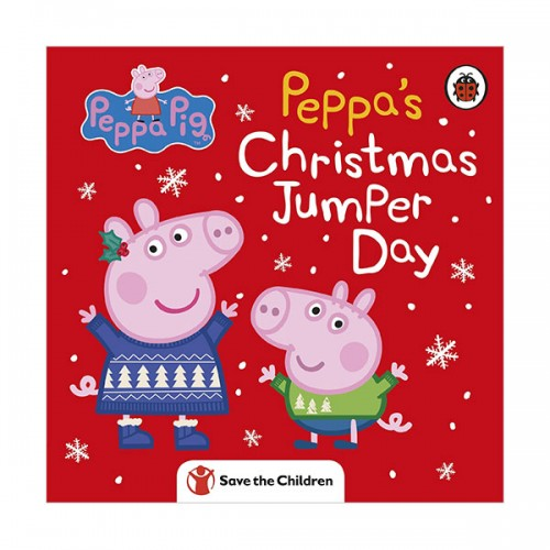 ★키즈코믹콘★Peppa Pig : Peppa's Christmas Jumper Day (Board book, 영국판)