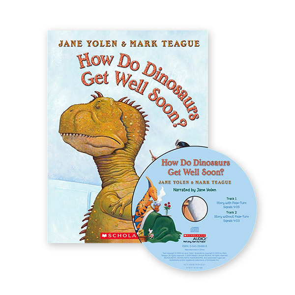 RL 1.7 : How Do Dinosaurs Get Well Soon? (Book & CD)