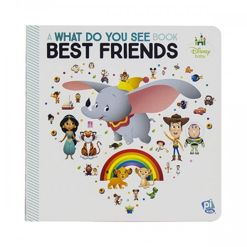 Look and Find : What Do You See Best Friends (Board book)