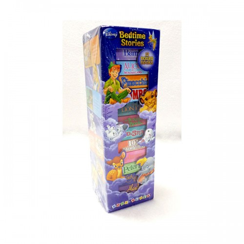 Disney Bedtime Stories : 12 Board Book Block Tower (Board book)