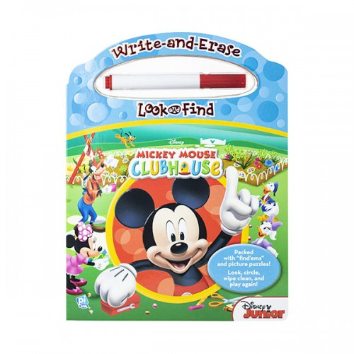 Disney Mickey Mouse Clubhouse : Write and Erase Look and Find  (Board book)