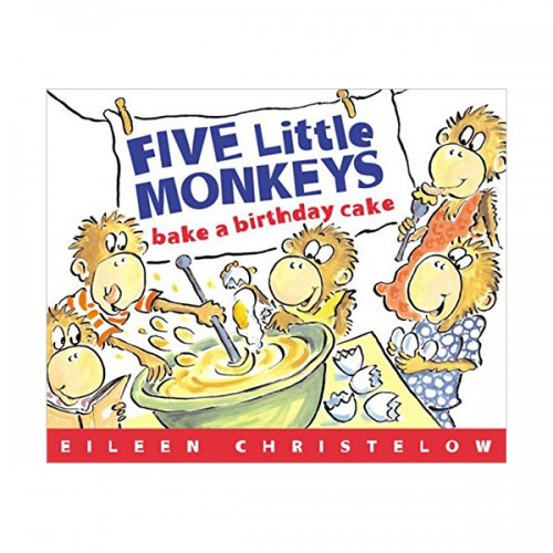 ★북슐랭★Five Little Monkeys Bake a Birthday Cake (Paperback)