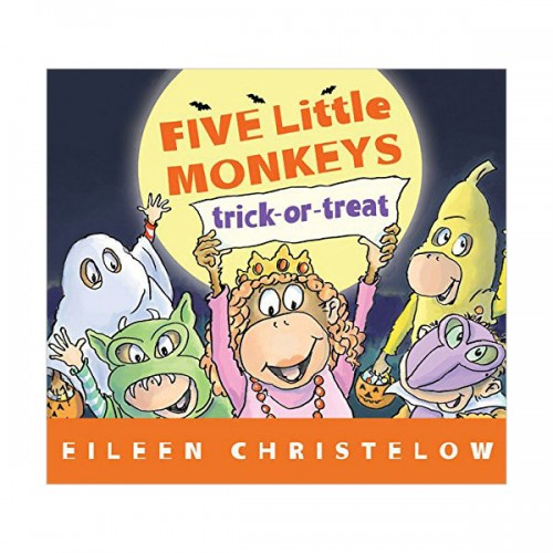 Five Little Monkeys Trick-or-Treat (Paperback)