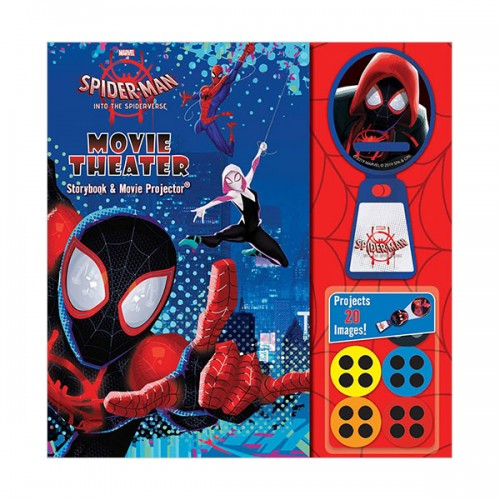 Marvel Spider-Man : Into the Spider-Verse Movie Theater Storybook (Hardcover)