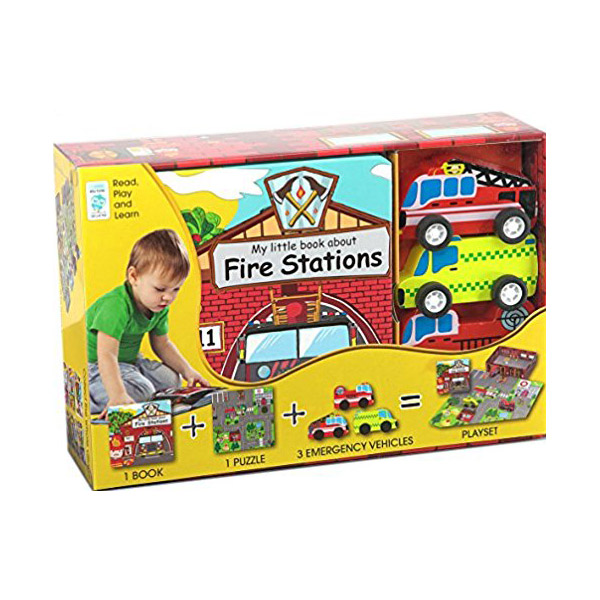 My Little Village : My Little Fire Station (Hardcover+Toys)