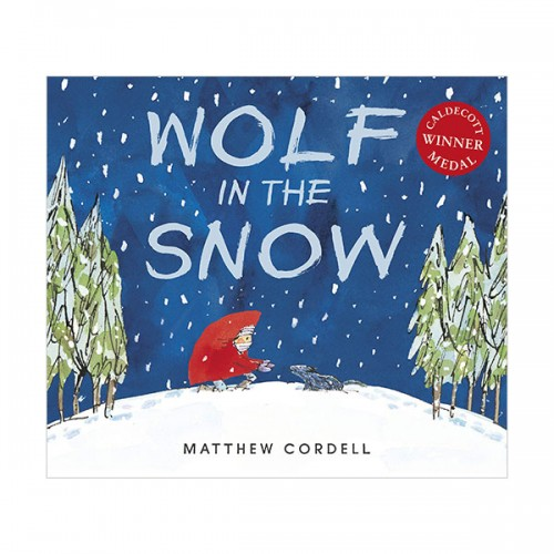 [2018 칼데콧] Wolf in the Snow (Paperback, Caldecott)