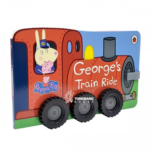 ★키즈코믹콘★Peppa Pig : George's Train Ride (Board book, 영국판)