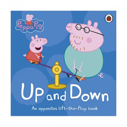 Peppa Pig : Up and Down : Lift-the-Flap Book (Board book, 영국판)