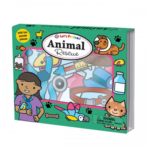 Let's Pretend : Animal Rescue (Board book, 영국판)