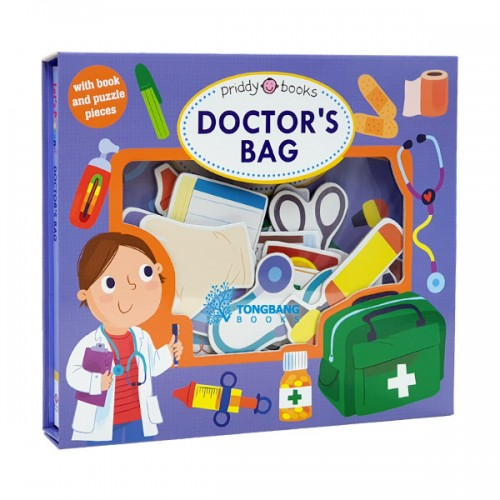 Let's Pretend : Doctors Bag (Board book, 영국판)