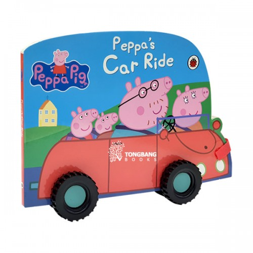 ★키즈코믹콘★Peppa Pig : Peppa's Car Ride (Board book, 영국판)