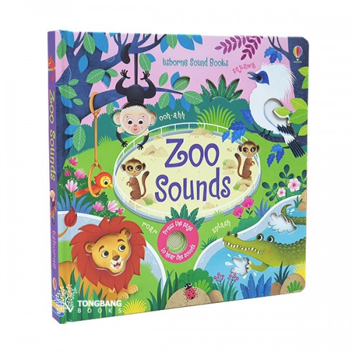 Usborne : Zoo Sounds (Board book, Sound Book, 영국판)