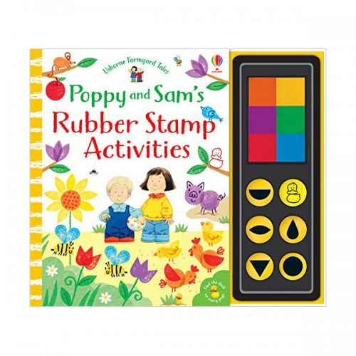 Poppy and Sam's Rubber Stamp Activities (Hardcover, 영국판)
