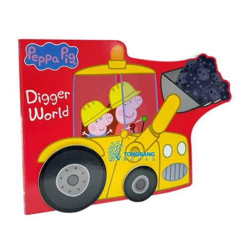 Peppa Pig : Digger World (Board book, 영국판)