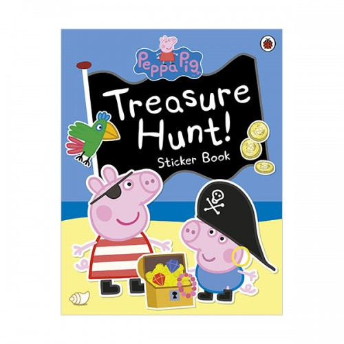 ★키즈코믹콘★Peppa Pig : Treasure Hunt! Sticker Book (Paperback, 영국판)