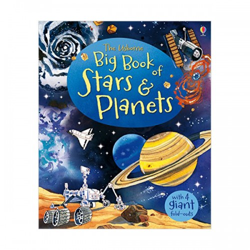Usborne : Big Book of Stars and Planets (Hardcover, 영국판)