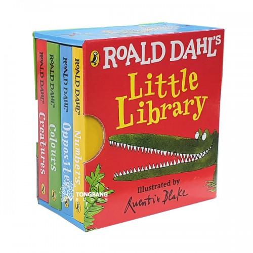 로알드 달 Roald Dahl's Little Library (Mini Board book, 4종, 영국판) (CD미포함)