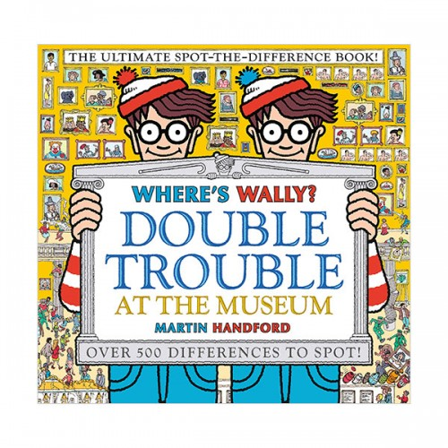 Where's Wally? Double Trouble at the Museum (Hardcover, 영국판)