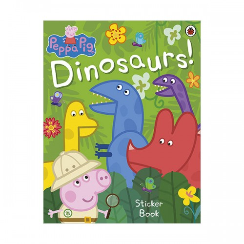 ★키즈코믹콘★Peppa Pig : Dinosaurs! Sticker Book (Paperback, 영국판)
