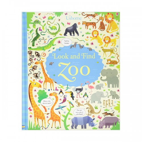 Look and Find Zoo (Hardcover, 영국판)