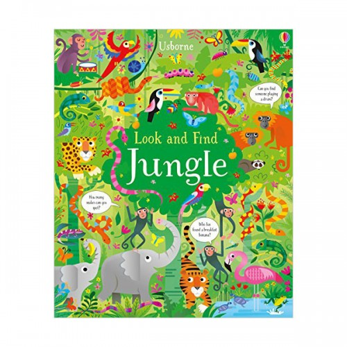 Look and Find Jungle (Hardcover, 영국판)