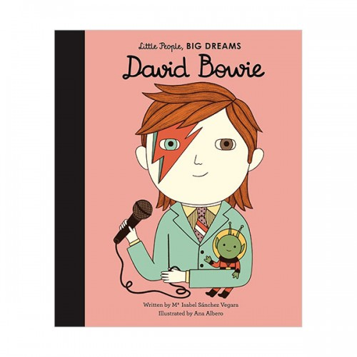 Little People, Big Dreams : David Bowie (Hardcover, 영국판)
