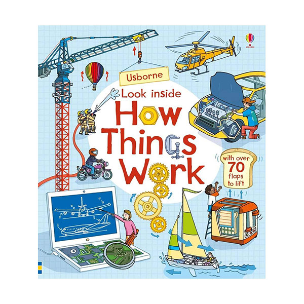Look Inside : How Things Work (Board book, 영국판)