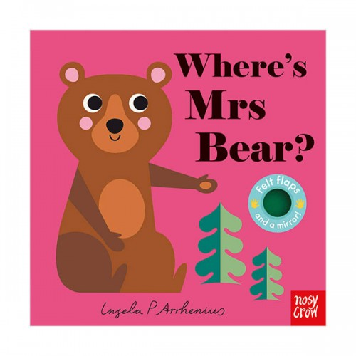 Where's Mrs Bear? : Felt Flap Book (Board book, 영국판)