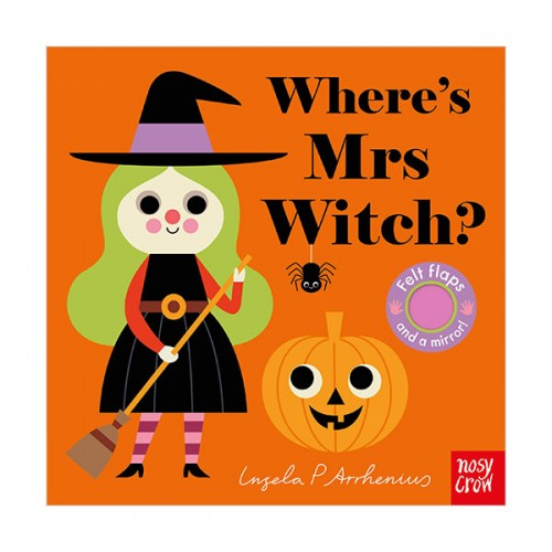 Where's Mrs Witch? : Felt Flap Book (Board book, 영국판)