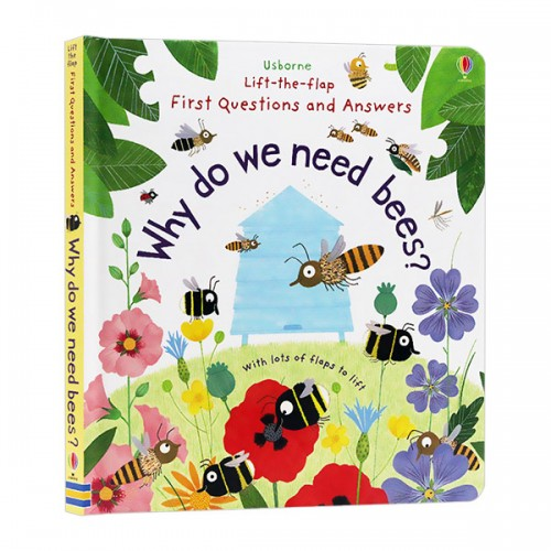 Lift-the-flap Questions and Answers : Why Do We Need Bees? (Board book, 영국판)