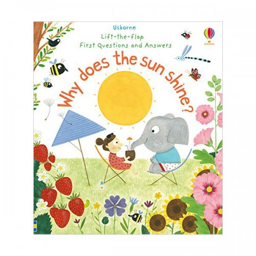 Lift-the-flap Questions and Answers : Why Does the Sun Shine? (Board book, 영국판)