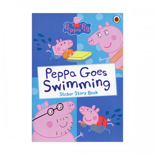 ★키즈코믹콘★Peppa Pig : Peppa Goes Swimming Sticker Book (Paperback)