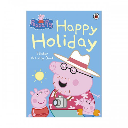 ★키즈코믹콘★Peppa Pig : Happy Holiday Sticker Book (Paperback)