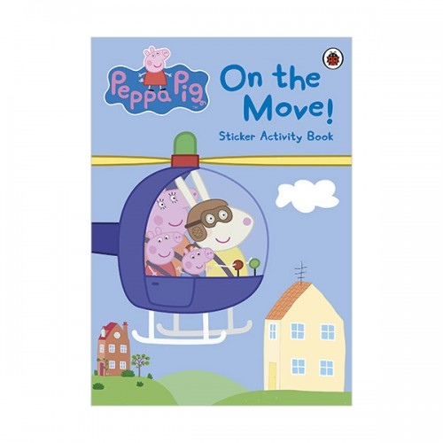 Peppa Pig : On the Move! Sticker Book (Paperback)