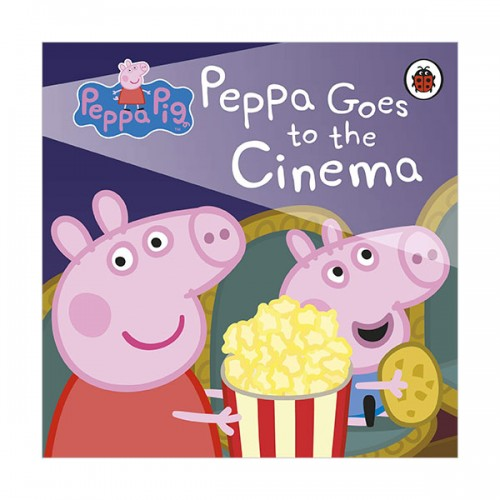 ★키즈코믹콘★Peppa Pig : Peppa Goes to the Cinema (Board book, 영국판)
