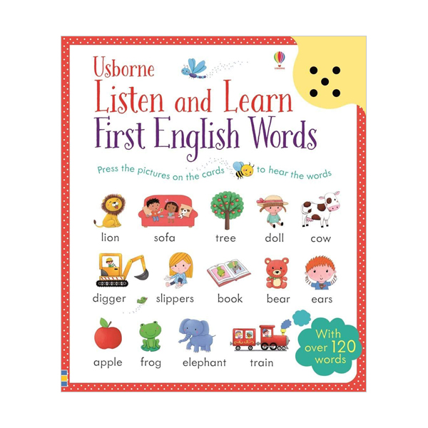 Listen and Learn : First English Words (Hardcover, 영국판)