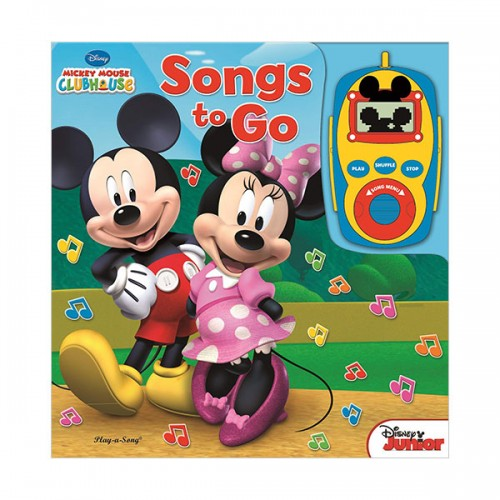 Disney : Mickey Mouse and Minnie Mouse Digital Music Player Sound Book (Board Book)