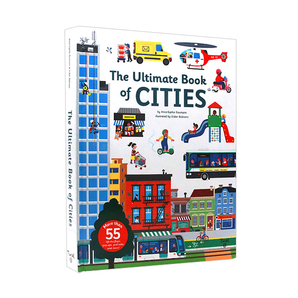 [베스트★] The Ultimate Book of Cities (Hardcover)