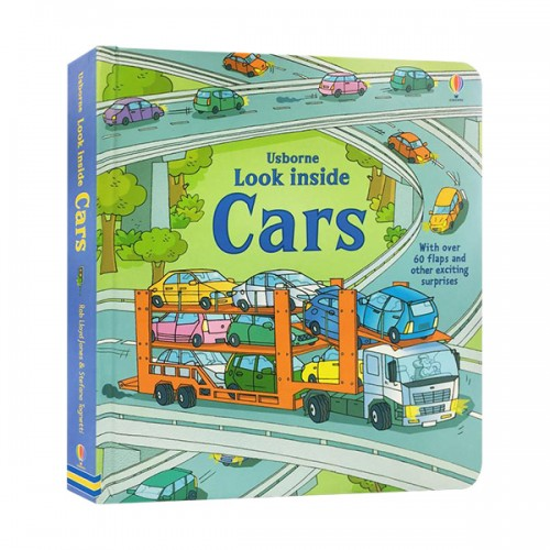 Look Inside : Cars (Board book, 영국판)