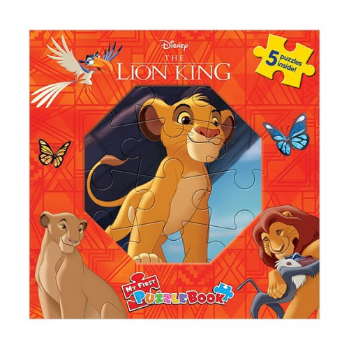 Disney Lion King : My First Puzzle Book (Board Book)