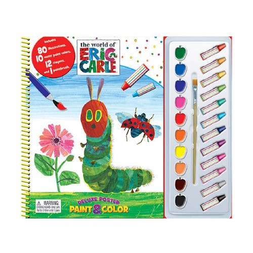The World of Eric Carle Deluxe Poster Paint & Color (Paperback)