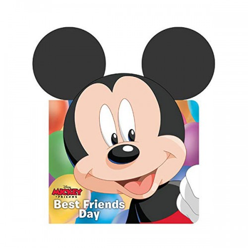 Mickey & Friends Best Friends Day (Board book)