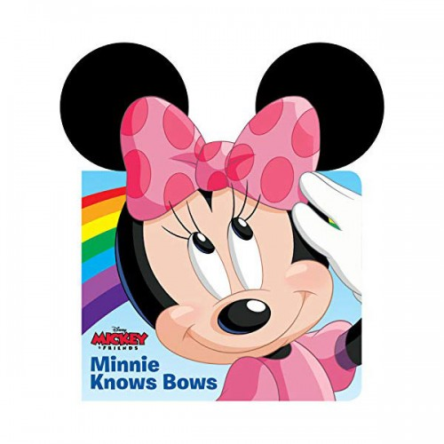 Minnie Knows Bows (Board book)