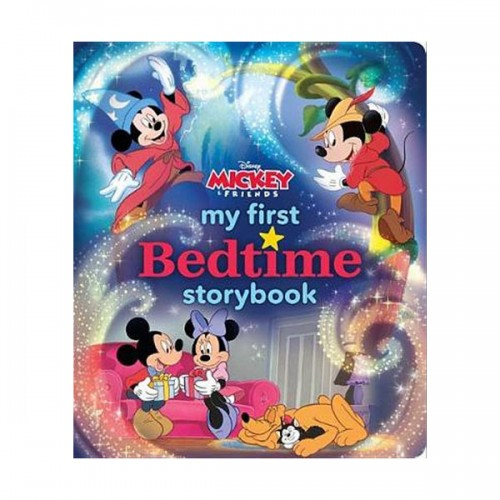 My First Mickey Mouse Bedtime Storybook (Hardcover)