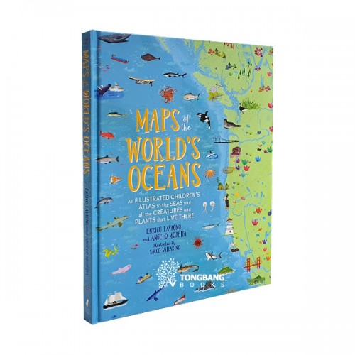 Maps of the World's Oceans (Hardcover)