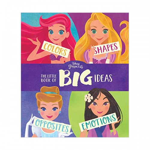Disney Princess The Little Book of Big Ideas (Board book)