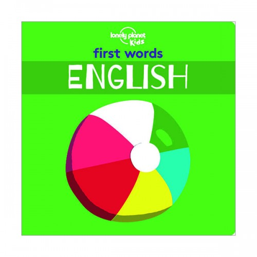 ★사은품★Lonely Planet Kids : First Words - English (Board book)
