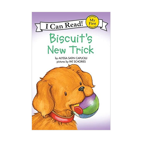 I Can Read My First : Biscuit's New Trick (Paperback)